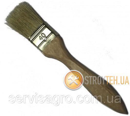 Кисть флейцевая 40/14 мм Укрпром