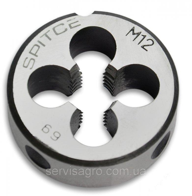 Плашка метрическая Spitce M10x1,25 мм