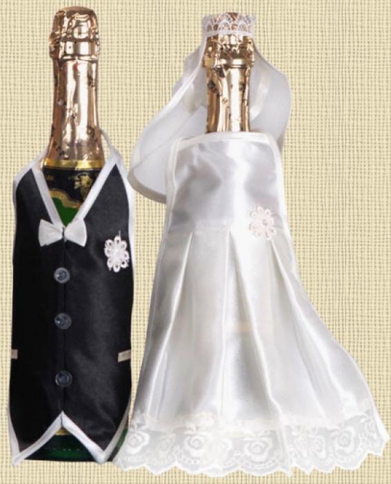 Шампанское на свадьбу поэтапно