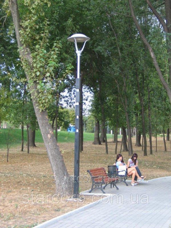 """Опоры наружного освещения парковая """"Sepia"""" с декоративным LED светильником"""