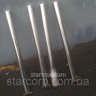 Rustfritt stål parkering bollard