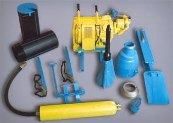 Комплекс бестраншейной замены и прокладки труб Модель МПС- 01-01