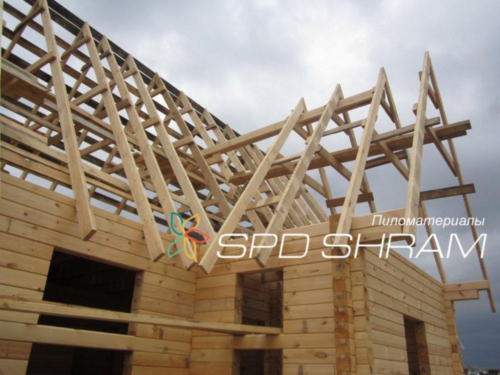 Стропила деревянные висячие