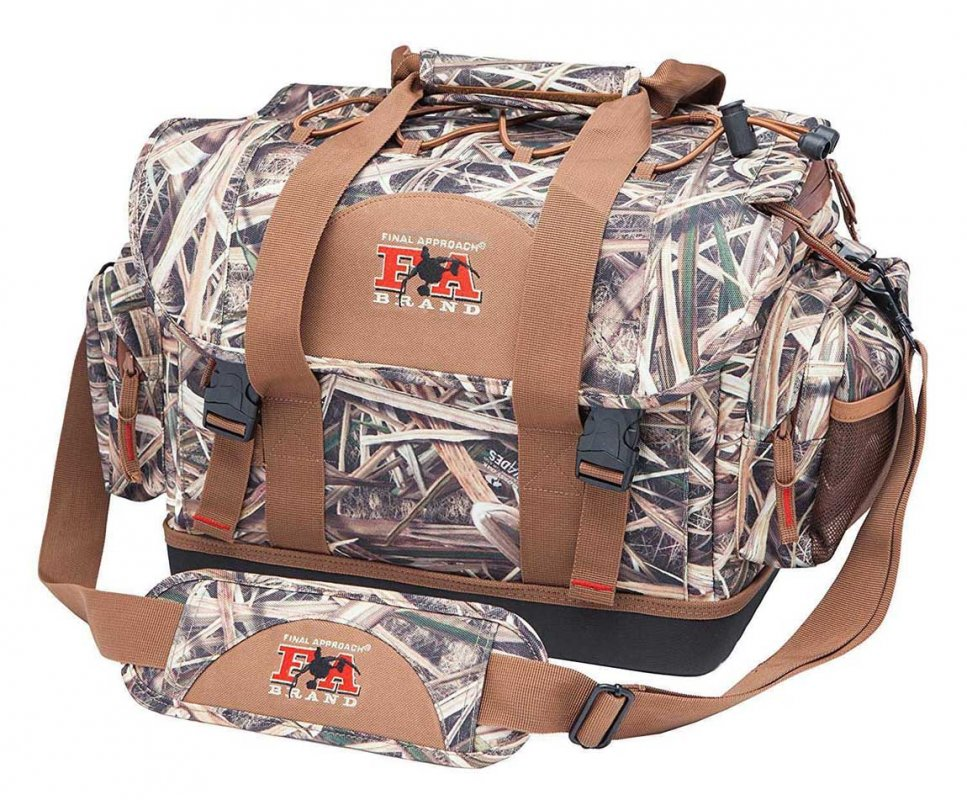 Сумка для охоты Final Approach Medium Blind Bag, Mossy Oak Blades