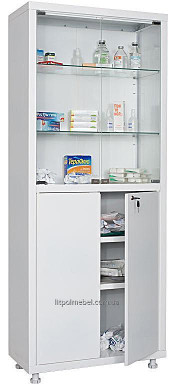 Двухстворчатый медицинский шкаф Sml 321