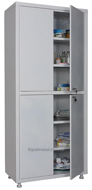 Двухстворчатый медицинский шкаф Sml 324