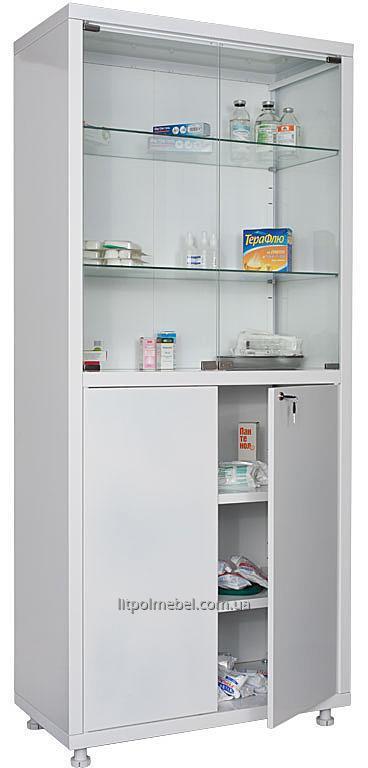 Двухстворчатый медицинский шкаф Sml 323