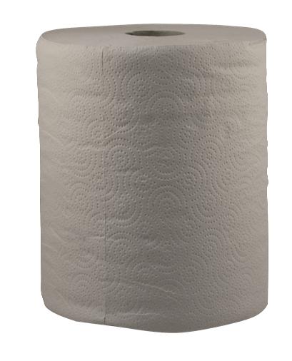 """Бумажные полотенца """"Макси"""" серые"""
