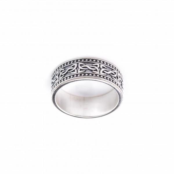 Купить Серебряное руническое кольцо Привлечение хорошо совместимого партнера R-7705Ag