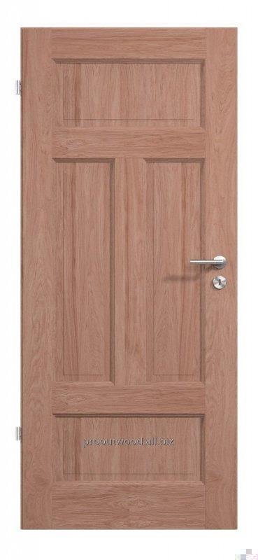 Купить Двери межкомнатные из дуба 44 * 800 * 2000 мм ламельная технология из натурального дерева , модель TYP1 GD5