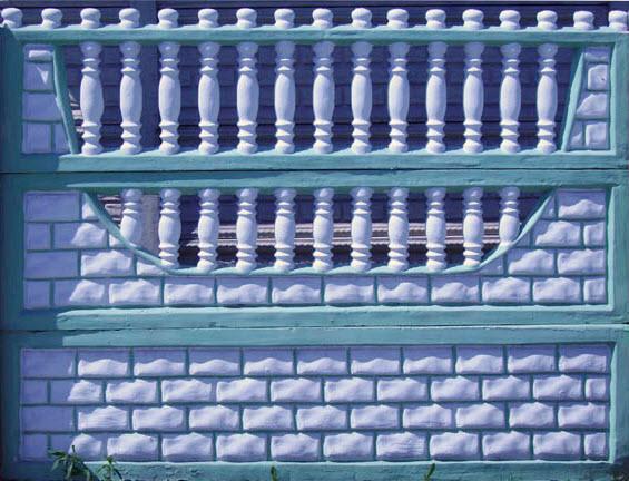 Забор железобетонный, секционный