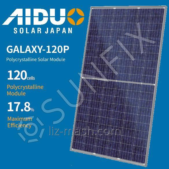 AIDUO Солнечная панель AIDUO GALAXY 120P-285 [285 Вт] Poly / 5 BB Poly / 5 BB