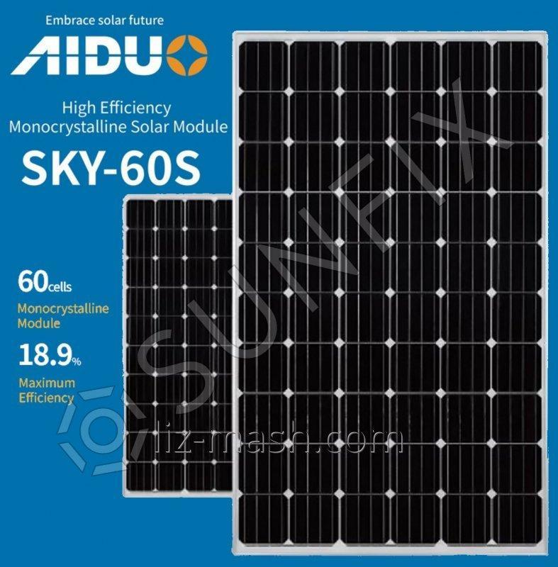 Солнечная панель AIDUO SKY 60S-305 [305 Вт] Mono / PERC / 5BB