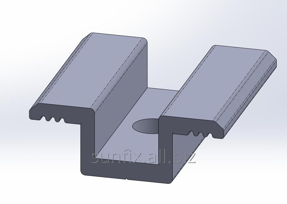 Прижим межмодульный FS-U-35/40