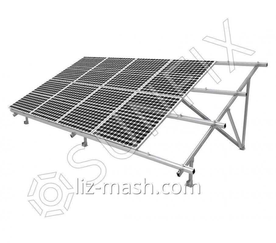 Алюминиевая система креплений для солнечных панелей TYPE-V