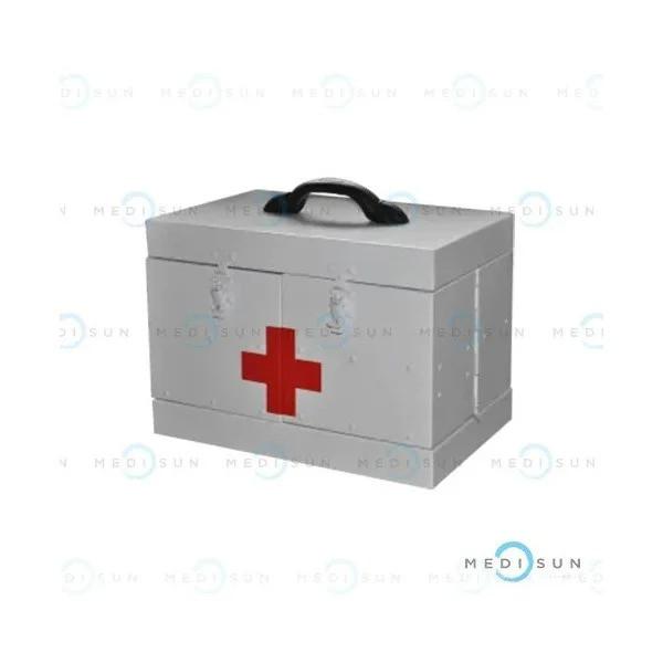 Саквояж алюминиевый для автомобилей скорой помощи смсп-01 медицинский Завет