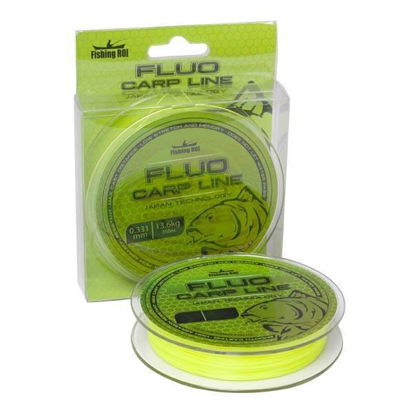 Купить Леска Fishing ROI Fluoro Carp Line 350м 0,37мм 15.8кг