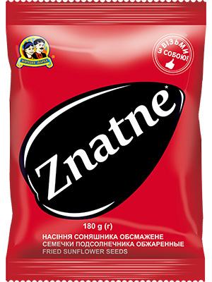 Купить Семена подсолнечника обжаренные, «Znatne» ТМ «Народная марка»