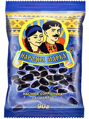 Купить  Семена подсолнечника обжаренные, ТМ «Народная марка»