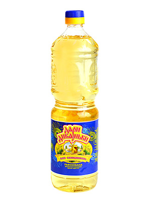 "Buy Sunflower oil refined deodorized frozen brand ""P"" TM ""Gifts Dickany"""