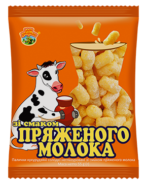 """Buy Sticks of corn flavored with milk TM «Gifts of Dickanka"""""""