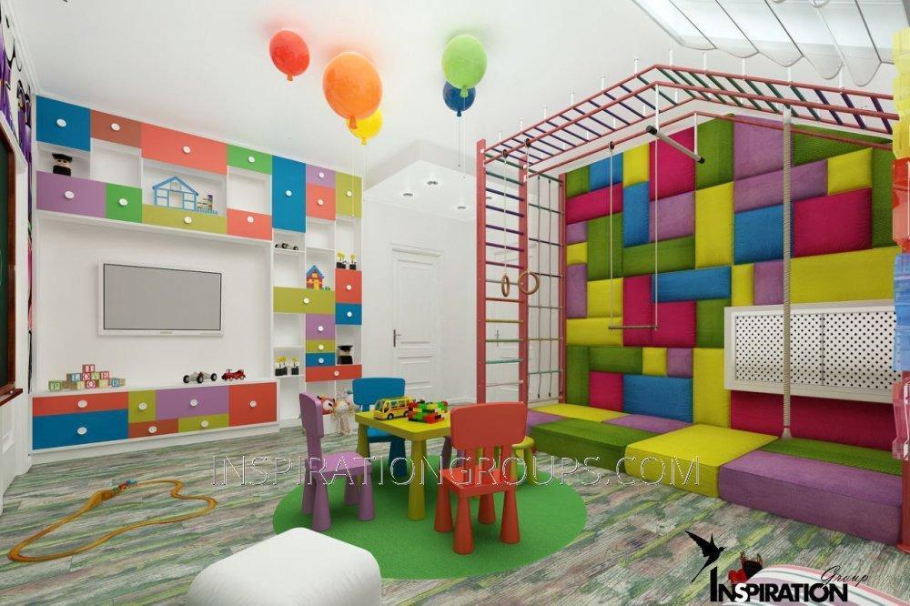 Панель для стен в детскую, игровую комнату