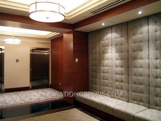 Стеновые панели с пуговицами