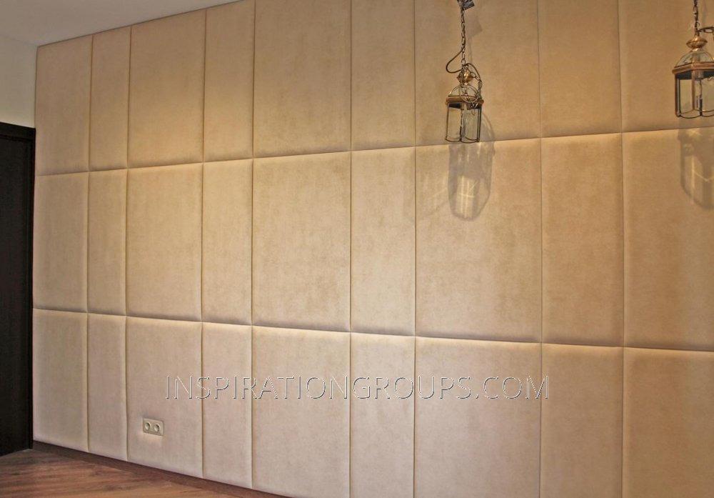 Мягка (объемная) плитка для отделки стен спортзалов, детских игровых комнат