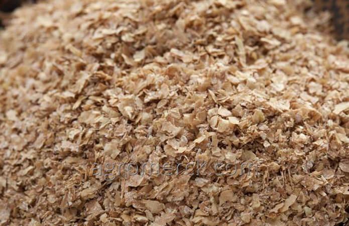 Отруби пшеничные фасованные в ПП мешки от 250 тонн