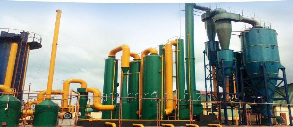 Купить Оборудование для газофикации биомассы