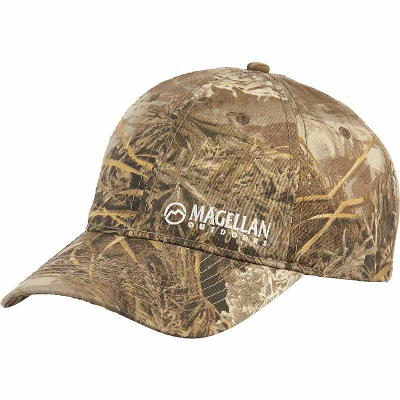 Кепка для охоты и рыбалки Magellan Outdoors Men's Twill Hunting Hat Realtree MAX-1