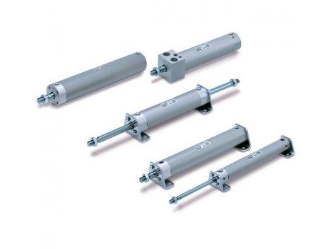 Цилиндр стандартного и двойного действия SMC - CG1
