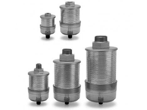 Глушители со встроенным фильтром SMC - AMC