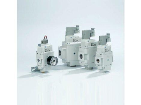 Клапан плавного пуска SMC - AV