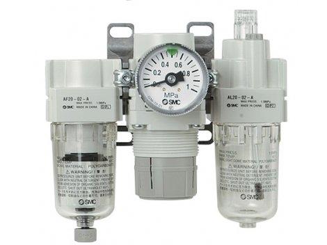 Модульные системы подготовки воздуха SMC - AC-A