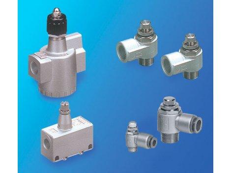 Дроссель с обратным клапаном SMC - AS Metall