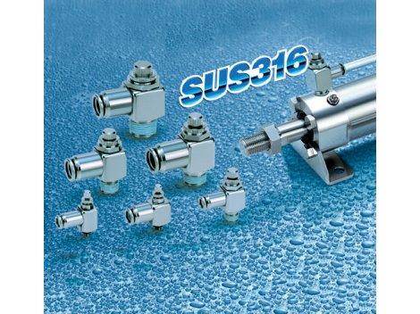Дроссель с обратным клапаном SMC - ASG
