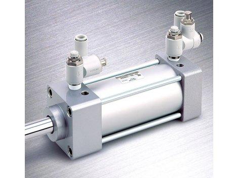 Клапан пневматический SMC - ASR/ASQ