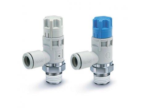 Клапан пневматический SMC - AS-R/AS-Q