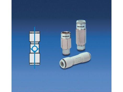 Обратный клапан пневматический SMC - AKH/AKB
