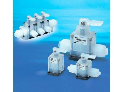 Клапан пневматический SMC - LVH 2/2