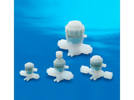 Клапан пневматический SMC - LVQ 2/2