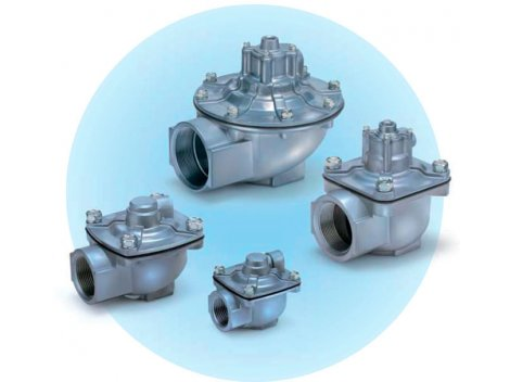 Клапан пневматический SMC - VXFA2 2/2