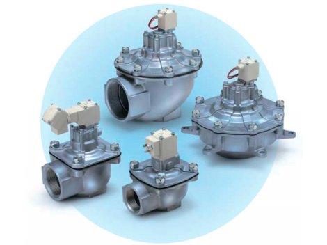 Электромагнитный клапан SMC - VXF2 2/2