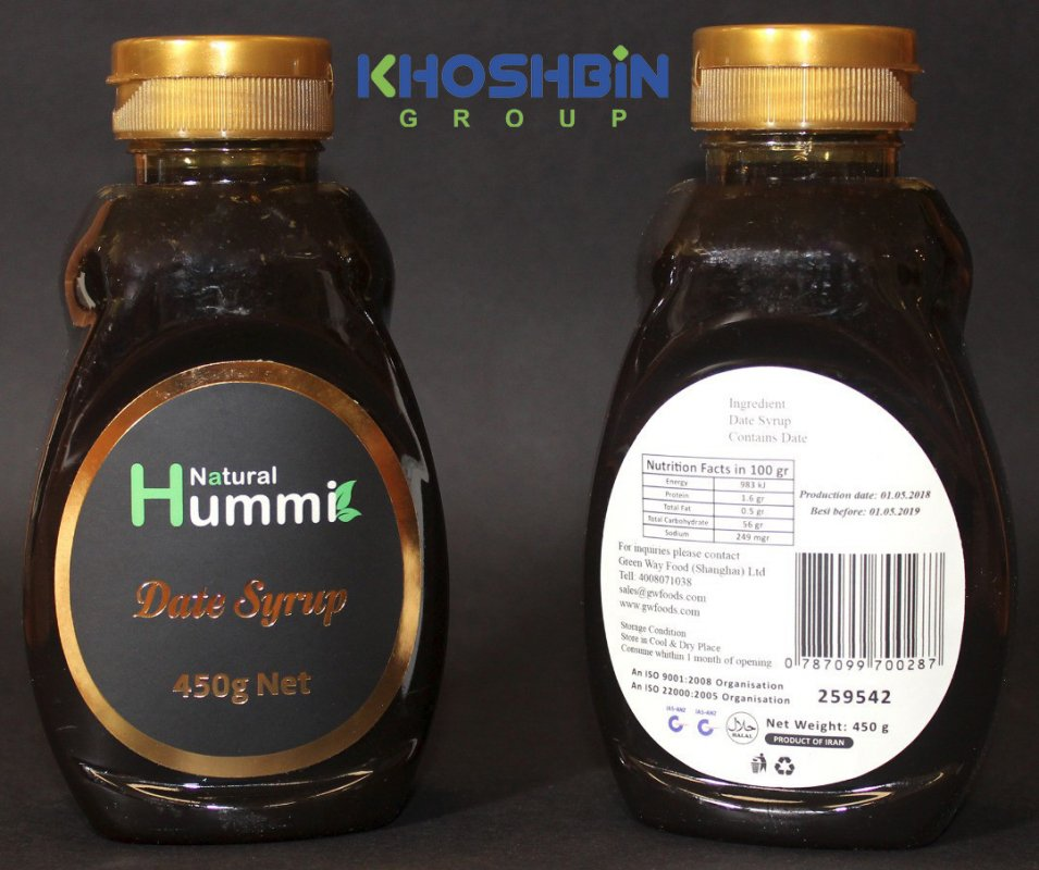 Buy Date syrup 450 g. Export from Iran