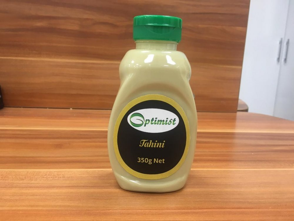 Тахини, кунжутная паста 350 г. Экспорт из Ирана