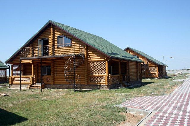 Деревянные дома в крыму фото