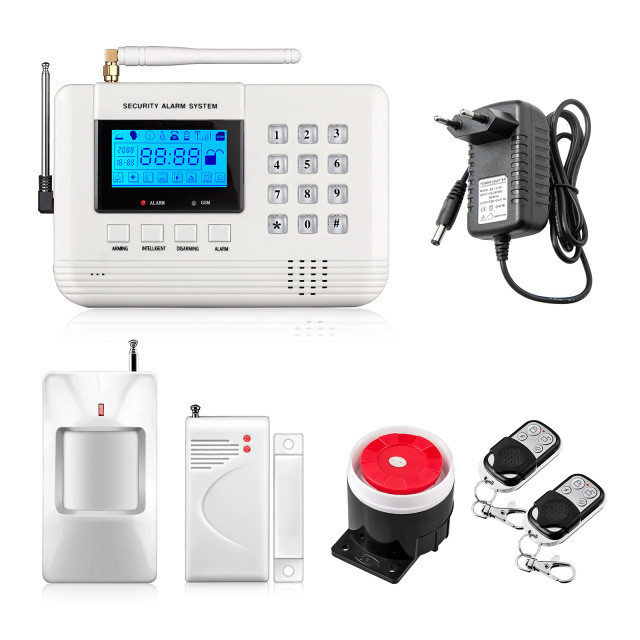 Купить GSM сигнализация 30С для охраны дома, дачи , гаража.