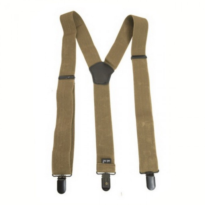 Buy Mil-Tec Braces with Coyote Clip