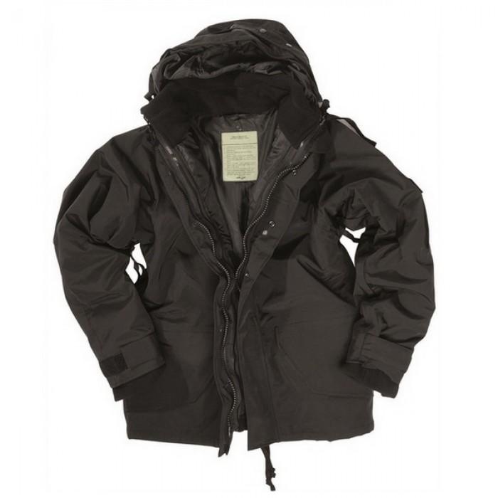 Купить Куртка Mil-Tec с подстежкой чёрная